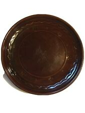 DAISY DOT Dinner Plate MARCREST Oven-Proof Stoneware 9.5 Inches Diameter Brown