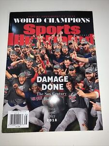 Sports Illustrated 2018 World Series Champions Boston Red Sox Team Newsstand New