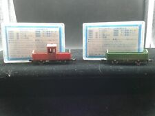 KATO N SCALE #18501 (2) FREIGHT CARS