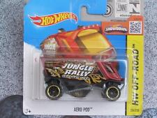 Hot Wheels 2015 #104/250 AERO POD red with OR6SP wheels Case P New Casting 2015