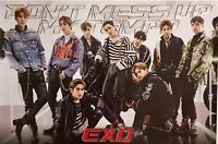 ✨EXO {DON'T MESS UP MY TEMPO} VIVACE VERSION✨ LIMITED EDITION OFFICIAL POSTER