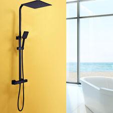 38℃ Thermostat Duschsystem 30x30 cm Quadrat Regendusche Duschset mit Handbrause