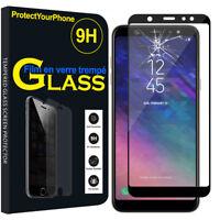Vitre De Protection Écran Film Verre Trempe Samsung Galaxy A6+/ A6 Plus (2018)