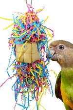 1651Mardi Foraging Box Parrot Bonka Bird Toys Cockatiel Budgie parakeet cage toy
