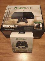 Sealed New Xbox One Ltd Ed. 1Tb Hdd Call Of Duty Advanxed Warfare Console + More