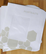 New listing 25 Photo Window Envelopes - 9x12.5 - Sports or Portrait Photo Packaging