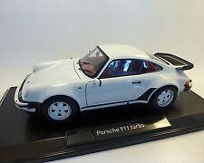 Porsche 911 Turbo 3,3 l, 1977, blanc, 1:18 NOREV