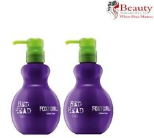 2 x TIGI Bed Head Foxy Curls Hair Contour Cream for her 200ml PACK OF 2