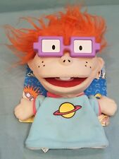 Vintage/Collectable/Rare 1999 Mattel Rugrats Chuckie Hand Puppet on Backing Card