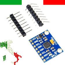 GIROSCOPIO e ACCELEROMETRO MPU-6050 MPU6050 GY-521 3 assi arduino PIC rasberry
