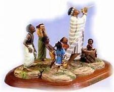 """Thomas Blackshear's Ebony Vision """"The Enchanted Piper"""" Complete Set Figurine NIB"""