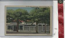 Vintage Geneva-on-the-Lake post card the Shore Shop and Pier Bingo FREE SHIPPING