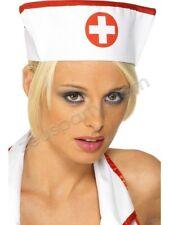 Smiffys Naughty Nurse Abito Grembiule Cappello GRANDI /& Infermiera Scaldamuscoli Calze Nuovo Di Zecca