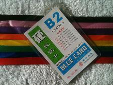 100 x ID Lanyards +  B2 plastic pouch. BULK LOT CHEAP