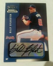 2002 Billy Sylvester select rookies and prospects rookie auto