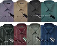 New Mens King Size Short Sleeve Summer Stripe Shirts 3XL - 6XL By Tom Hagan