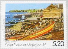 ST. PIERRE MIQUELON SPM 1999 770 677 Gemälde Painting by P. Guillaume Art MNH