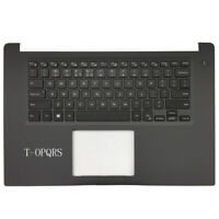For DELL Inspiron 15-7000 7560 backlit US keyboard with palmrest upper cover