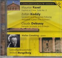Ravel, Kodály, Debussy, Walter Giesekamp - AUDIOPHILE CLASSIC GOLD CD - (NEU)