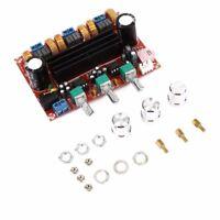 50W*2 + 100W 2.1 Sound Channel Digital Subwoofer Power Amplifier Board DC 12-24V