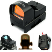 Mini Holographic Reflex 3 MOA Red Dot Sight Micro Compact 20mm Rail Scope Mount