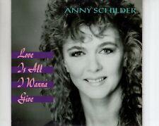 CDANNY SCHILDERlove is all i wanna giveCARDSLEEVE 1991 EX+  (B3496)