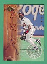 1995 Leaf Great Gloves Marquis Grissom Atlanta Braves #7 (KCR)