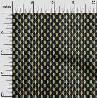 oneOone Popelin de algodon Tela a rayas Resumen de la decoracion-WEV