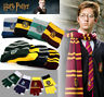 Harry Potter Cosplay Set Scarf Hat Tie Gryffindor Slytherin Hufflepuff Ravenclaw