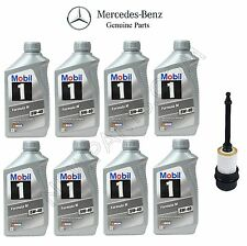 8-Liters Mercedes C240 C43 AMG 1998-2006 5W-40 MB Spec 229.5 Engine Oil & Filter