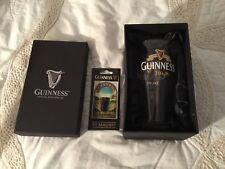 NIB Guinness Dublin Tulip Beer Glass (20 oz.) Plus New 3D Magnet