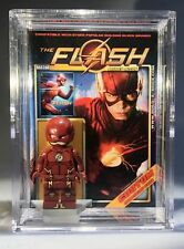 Flash CW DC Custom Mini Action Figure w/ Display Case & Stand 358