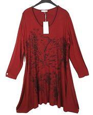 NEU LA MOUETTE Kleid Dress Robe Vestido Tunika Tunic L 44 46 Lagenlook **