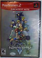 KINGDOM HEARTS II New PlayStation 2 Game PS2 Greatest Hits Disney Squaresoft