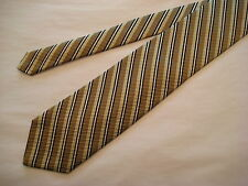 Robert Talbott Best of Class Silk Neck Tie - Taupe/Navy/Ivory