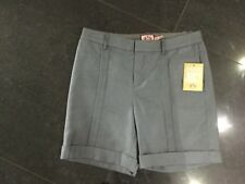 NWT Juicy Couture New & Gen. Ladies UK Size 8/10 U.S. 4 Grey Wool Blend Shorts