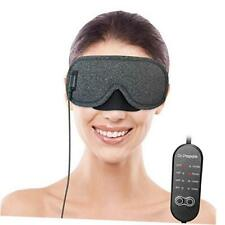 Heated Eye Mask, USB Eye Mask for Dry Eyes with Temperature & Timer Control,
