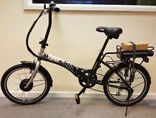 Elife Royale Black Electric Folding Bike 20in Wheel **MANUFACTURER REFURBISHED**