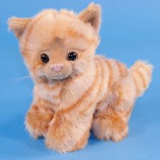 Dowman Sitting Ginger Cat Soft Toy 17cm - Brand New with Tag
