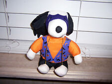 Whitman's Sampler Plush Toy SNOOPY In Halloween Costume Mask Bat (No Candy)