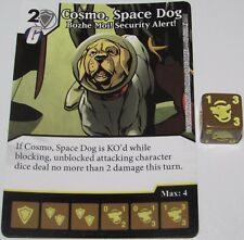 COSMO, SPACE DOG BOZHE MOI! SECURITY ALERT 87 Guardians Galaxy Dice Masters Rare