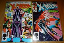 X-MEN #200,201 FIRST CABLE AS BABY NATHAN NM 9.2'S