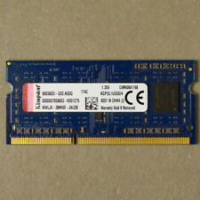 Kingston KCP3L16SS8/4 4GB DDR3L 1600MHz Non ECC RAM Memory SODIMM Pre-Owned