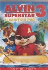 ALVIN SUPERSTAR 3 (2011) DVD - EX NOLEGGIO