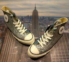 Converse x Chiara Ferragni Chuck 70 High Glitter Patch Womens Size 7.5 563829c