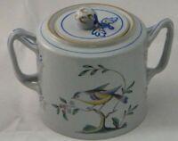 Spode Queens Bird (Y4973 Older) Sugar Bowl W/ Lid