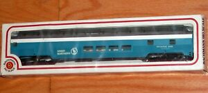 BACHMANN FULL DOME CAR GREAT NORTHERN BLUE MOUNTAIN VIEW