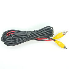 6 Meter /19ft RCA Video Cable Male to Male Plug for Car Rearview Camera Monitor