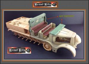 1 35 Kraut-Kits FAMO Cabin Soft top - Open - NEW!!!!