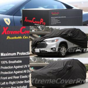 2021 GMC YUKON BREATHABLE CAR COVER W/MIRROR POCKET - BLACK